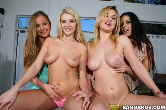 Diamond Kitty, Courtney Shea, Mercedes Lynn, Addison Avery   Party of 3